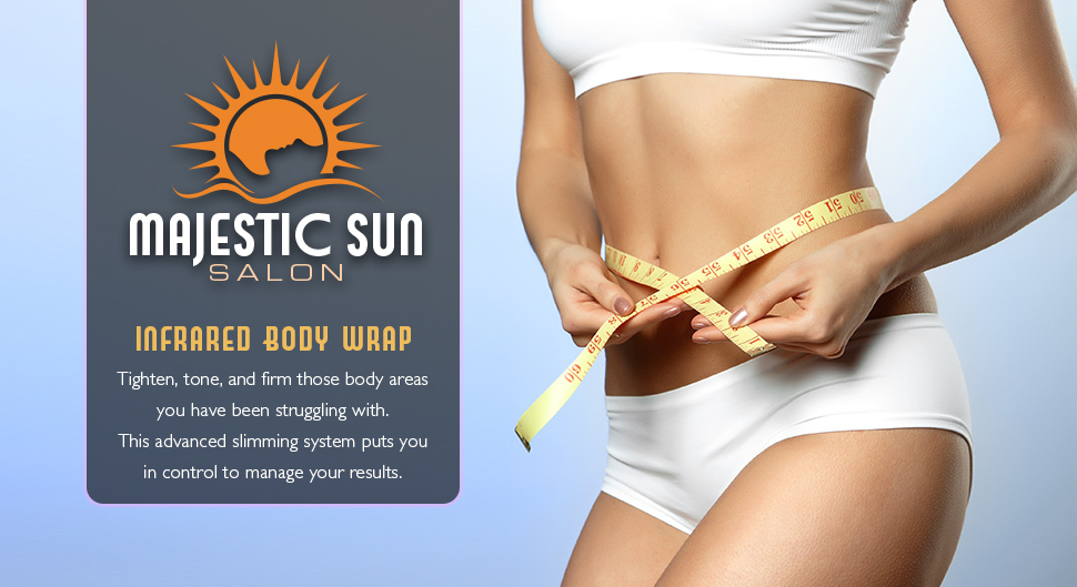 Body Wraps Infrared Wrap Weight Loss Majestic Sun Salon
